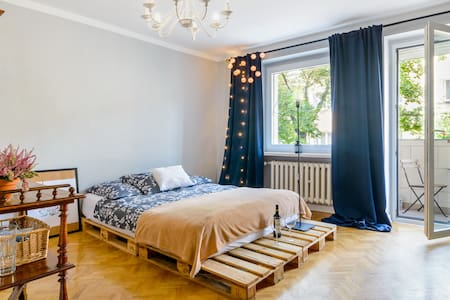 Cosy apartament near City Center - Poznań - Apartemen