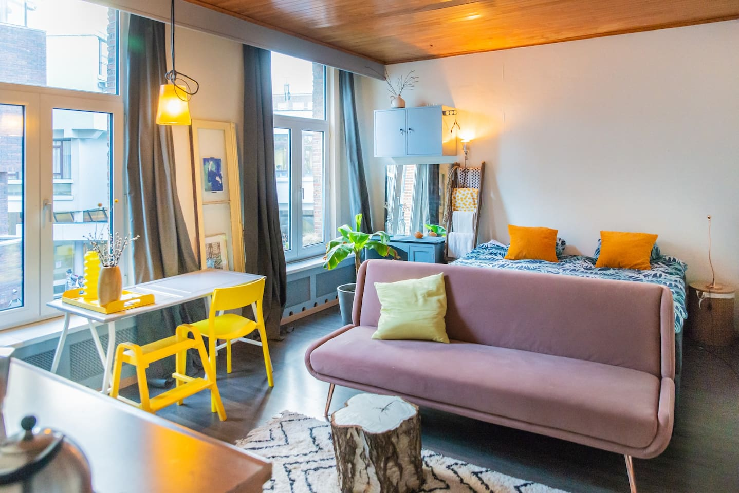 Gele kamer overzicht