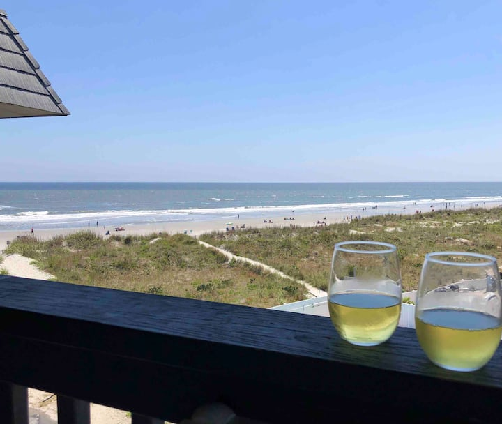 Gorgeous Ocean Views in Relaxing Cherry Grove