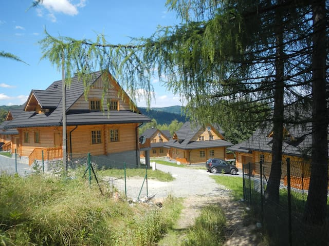 Mosorny Park 4, Eco-holiday accom - Zawoja - 一軒家