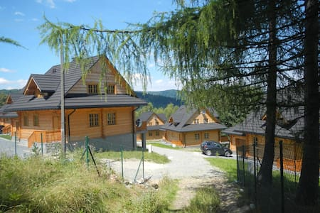 Mosorny Park 4, Eco-holiday accom - Zawoja - Дом