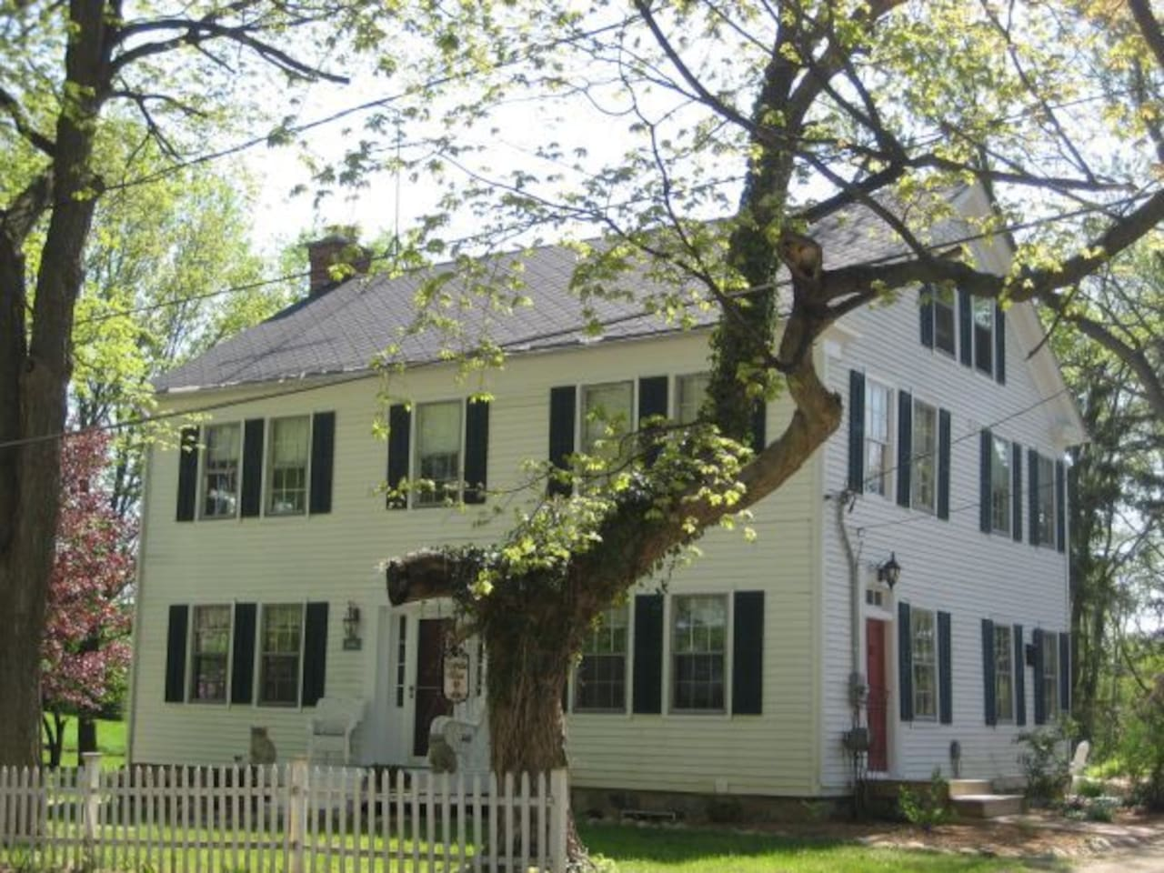 Built in 1832, this home was originally built and used as a boarding house.