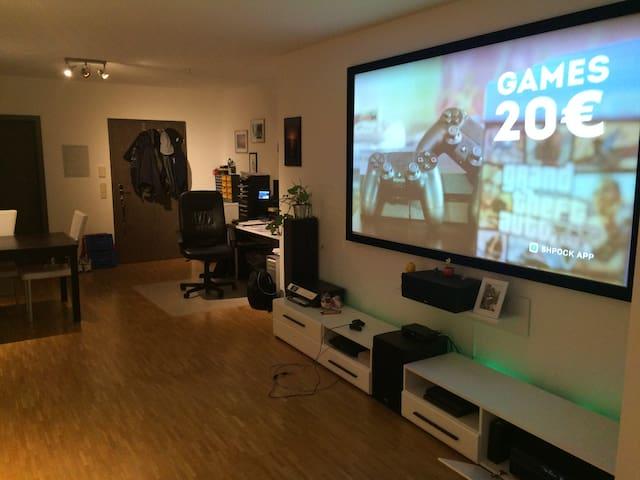 Moderne helle Wohnung bei München - Vaterstetten - Departamento