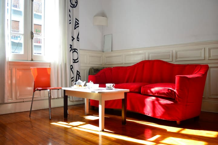 Be my guest!Special Room! Excellent location!Tango - Buenos Aires - Apartamento