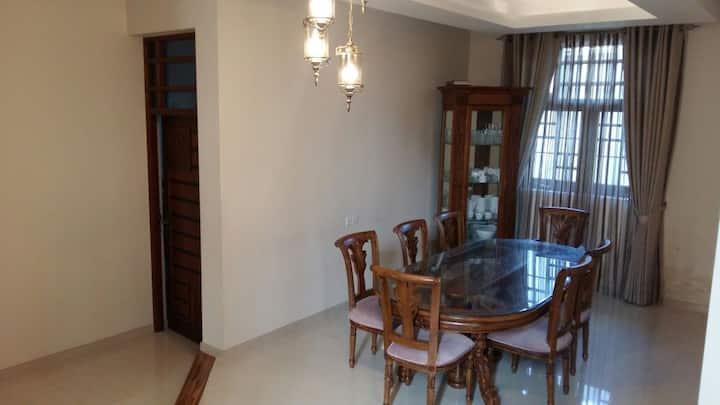 Katunayaka air condition rooms in a villa