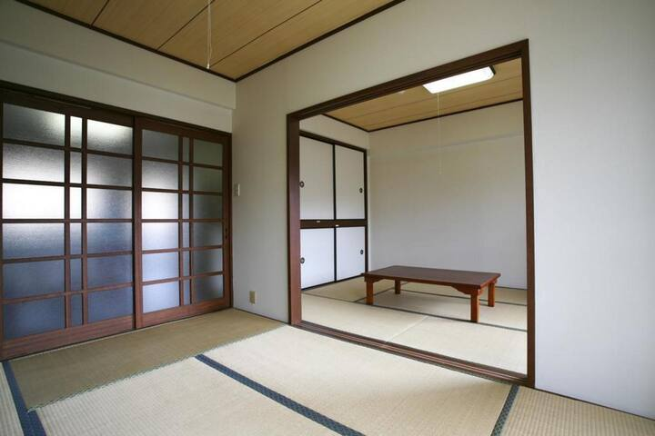 Condominium with chartered hot springs♪伊東温泉,4階2LDK(和室)【From 4 pax】