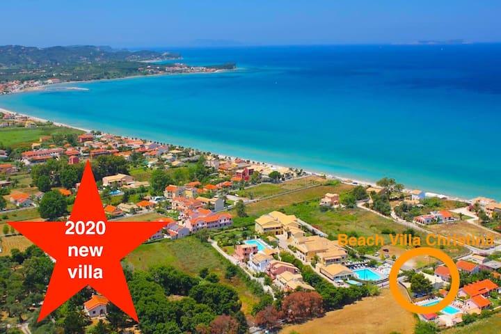 Beach Villa Christina - new for 2020