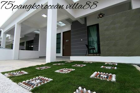75pangkor ocean villa88 (5min to beach)