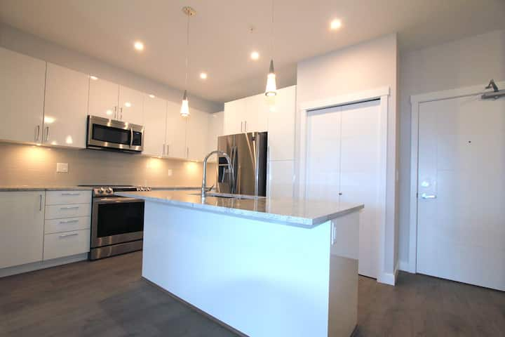 Clean, Bright  New Two bedrooms two washrooms home