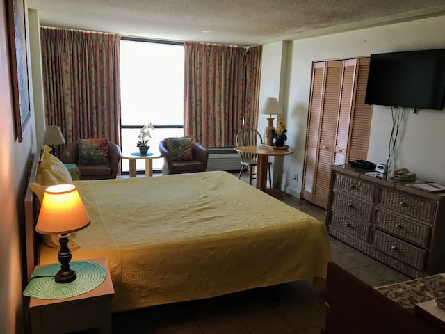 Ocean View Condo (King Bed)