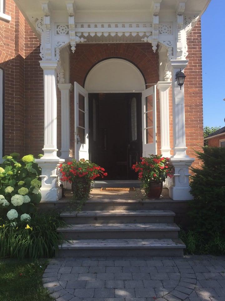 "Werden House - in the ""The Settler's Dream."""