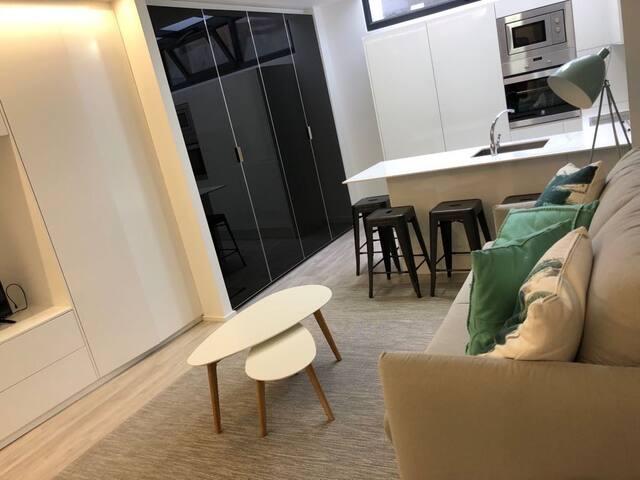 Acogedor apartamento en la costa