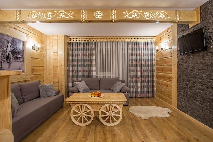 Apartament Olchowy DeLux dla 2-4 osób Zakopane