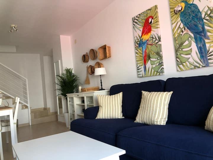 Apartamento duplex Los Guacamayos.