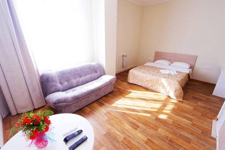 Квартира-студия, Партизана Железняка 40б. Красивая