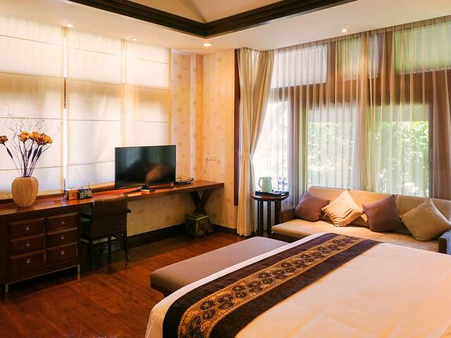 YuJia Yododo Inn-豪华大床房Double bed - San Sai District