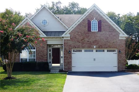 Large pet friendly home 2.5 miles to DE/MD beaches - Selbyville - Rumah