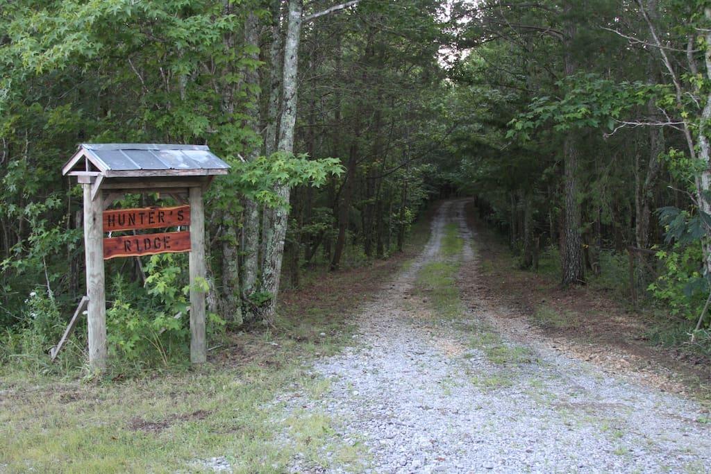 Entrance to your getaway escape!