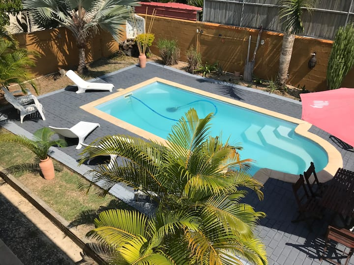 Calm furnished villa with swimming pool and garden