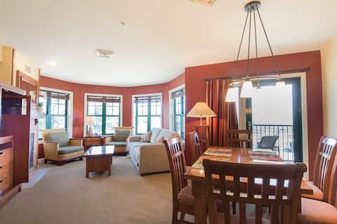 One bedroom Condo  at the Appalachian Resort