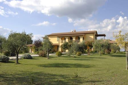 Villa di campagna con piscina - Lubriano