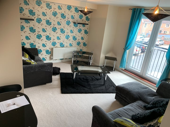 2 bed flat near City & Norfolk & Norwich Hospital