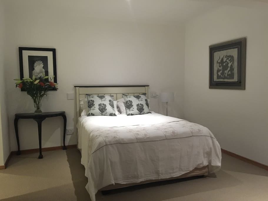 Elegant and spacious bedroom