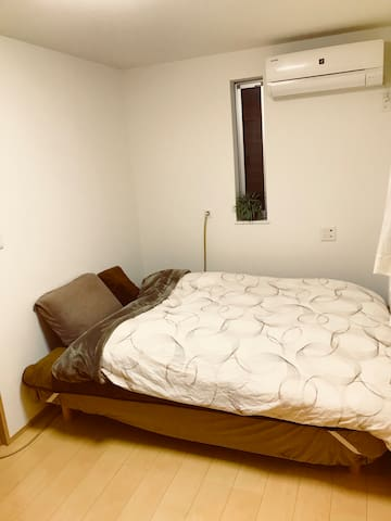 Shinjuku 10min, 2bed clean private room !!