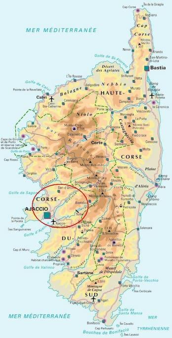 Situation en Corse
