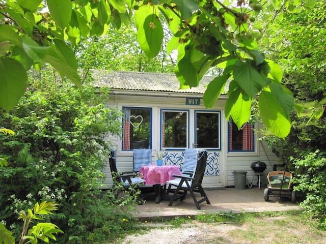 """Villa Holland """"Huisje aan Zee"""" WIT - Sint Maartensvlotbrug - Casa de campo"""