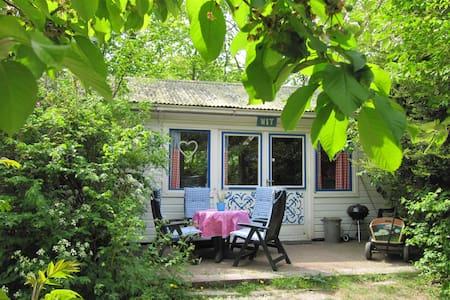 """Villa Holland """"Huisje aan Zee"""" WIT - Sint Maartensvlotbrug - Бунгало"""