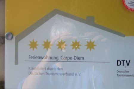 """""""Carpe-Diem""""  ***** - Nutze den Tag - Perleberg - Apartment"""