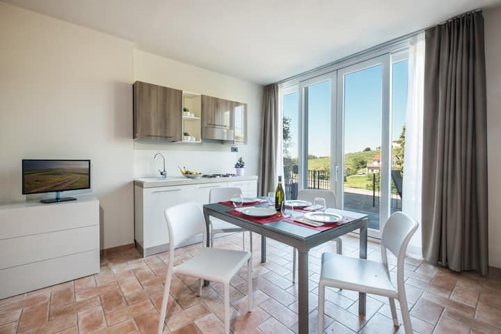 Residence nelle Langhe -Appartamento Bussia