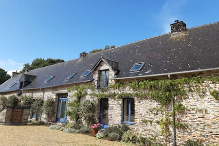 Spacious rural gite near Malestroit, sleeps 6