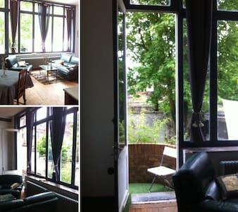 Très grand studio 40 m2 calme et lumineux - Tourcoing - Apartemen