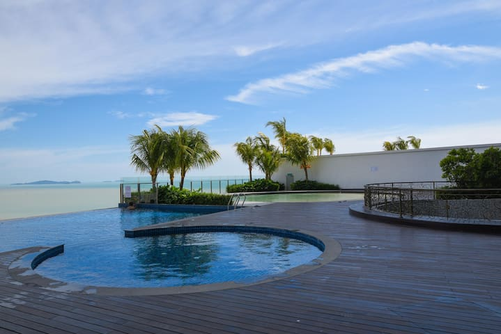 Silverscape,Seaview 2 Rooms, Malacca,WIFI,Netflix