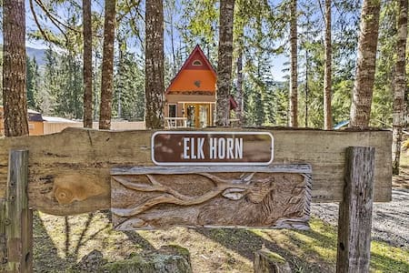 Elk Horn Cabin  A Mount Rainier Retreat