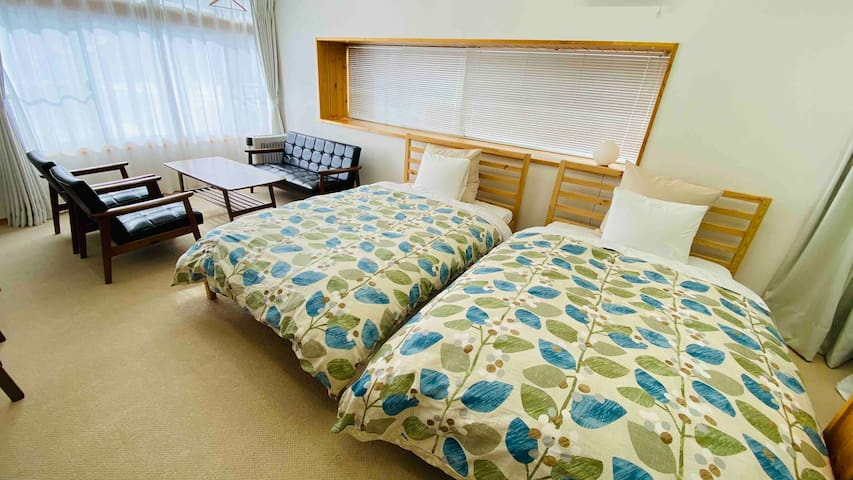 民泊セカンドハウス「ファミリールーム」1-5名(個室禁煙)裏磐梯高原 磐梯山ジオパーク 国立公園