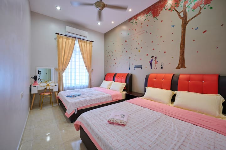 BB Sweet DreamMalacca Homestay NearJonker&3Room