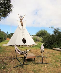 Tipi Stay on Permaculture Farm - Burnside