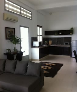 Airy apt w/private terrace - Phnom Penh