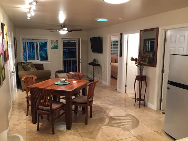 Beautiful two bedroom one bath unit - Princeville - Apartamento