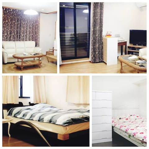 5 min to sta. 7ppl brand new house in Akasaka