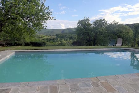 Country house with swimming pool - Lisciano Niccone