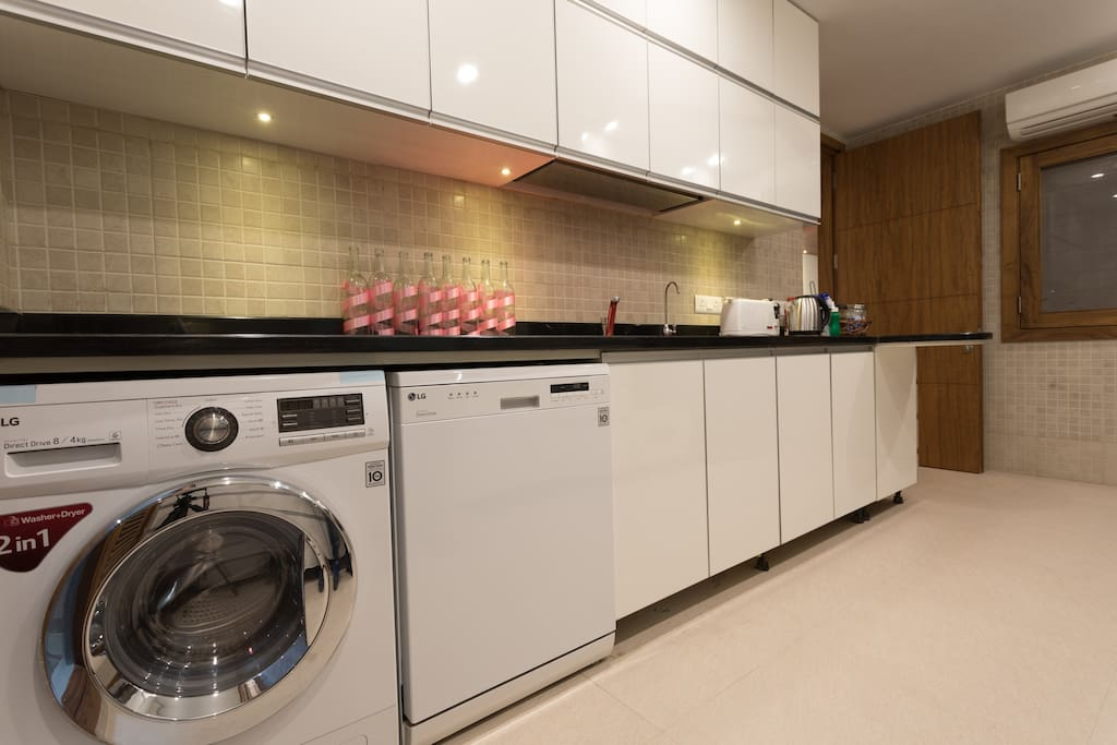 Washing machine, dishwasher and RO System in the kitchen