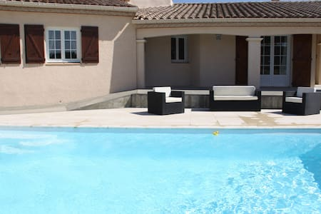 Villa 4 chambres à la campagne proche Carcassonne - Villegailhenc - 別荘