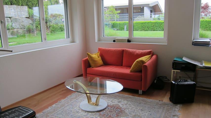 Daheim -helle 2,5 Zimmer Wohnung - Uetikon am See - Apartment