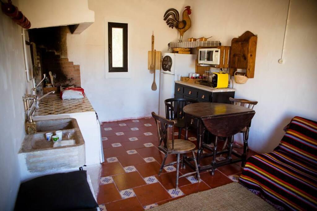 Cozinha/zona de estar