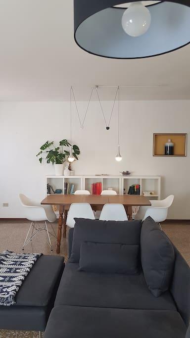 Living area 6 seats