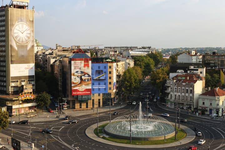 Kings Crossroads Central Slavija Apartman Apartments For Rent In Beograd Serbia